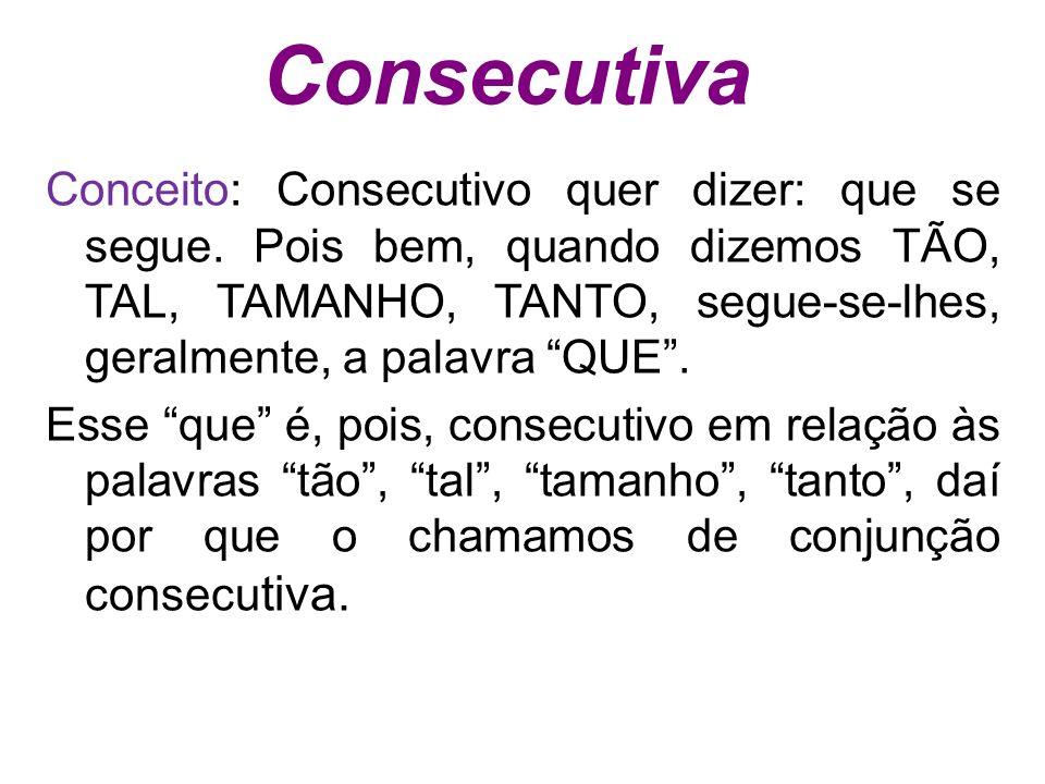 Consecutiva
