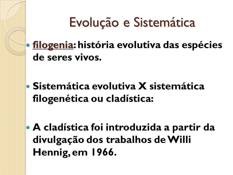 Evolução e Sistemática