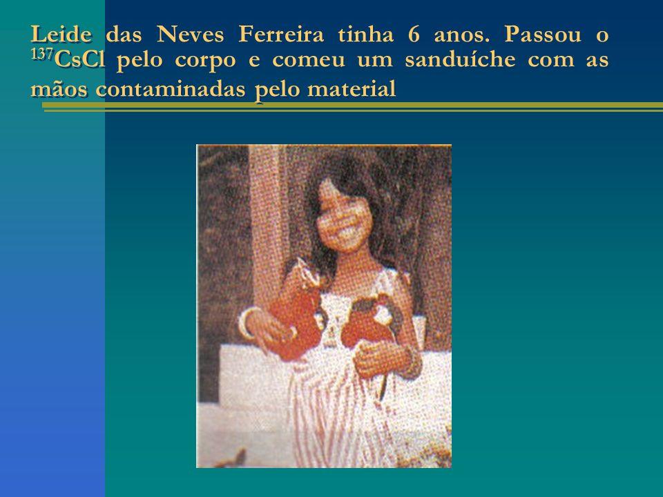 Leide das Neves Ferreira tinha 6 anos