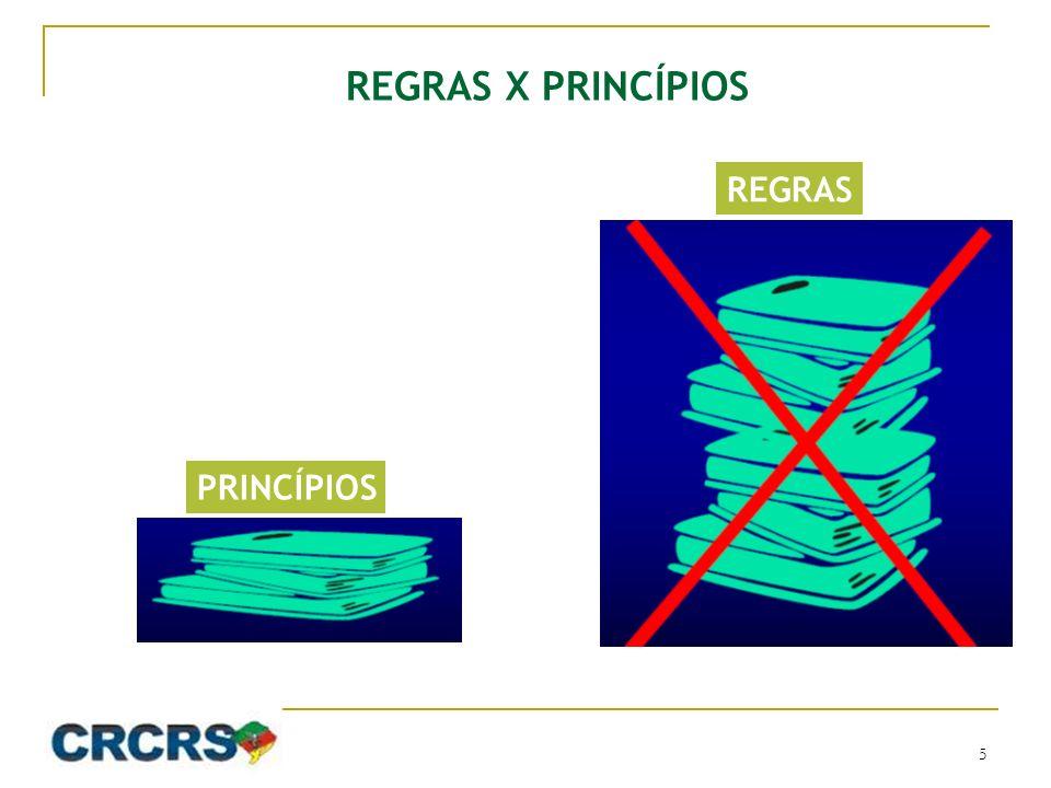 REGRAS X PRINCÍPIOS REGRAS PRINCÍPIOS 5