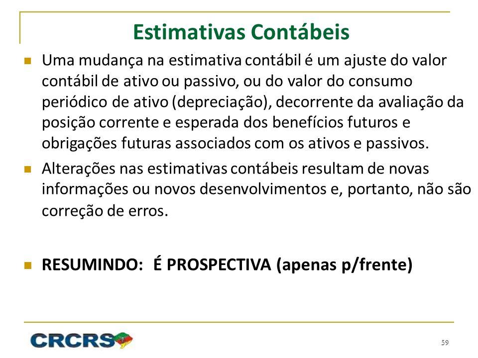 Estimativas Contábeis