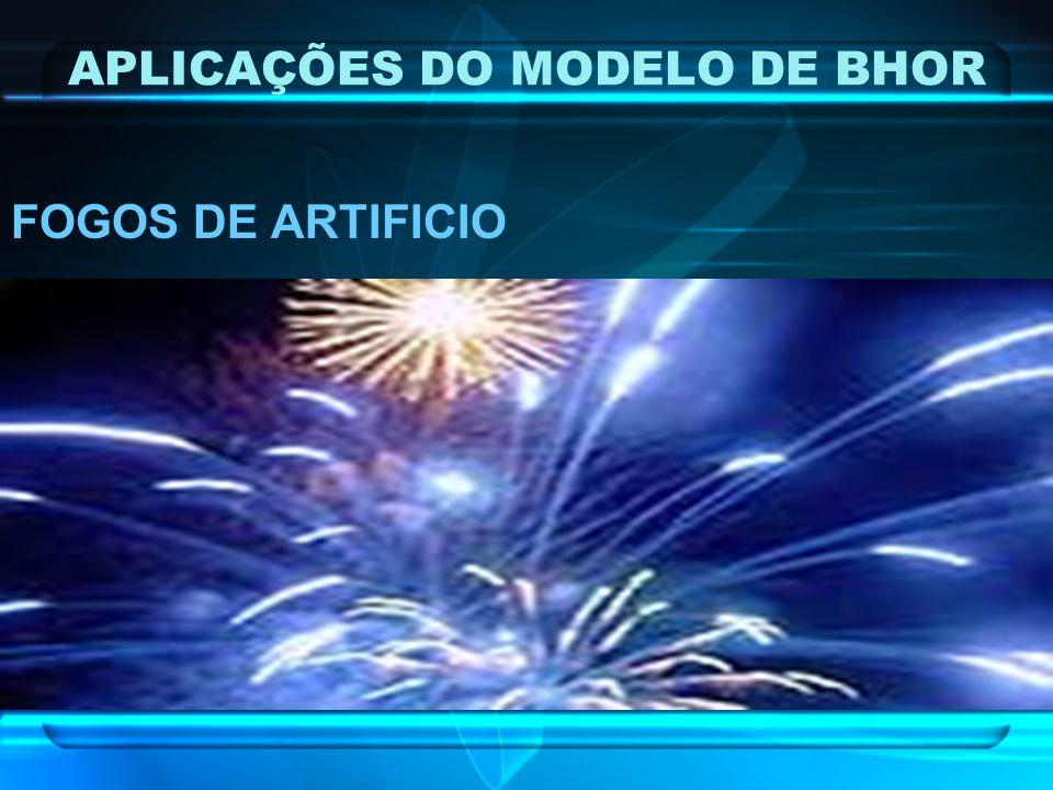 APLICAÇÕES DO MODELO DE BHOR