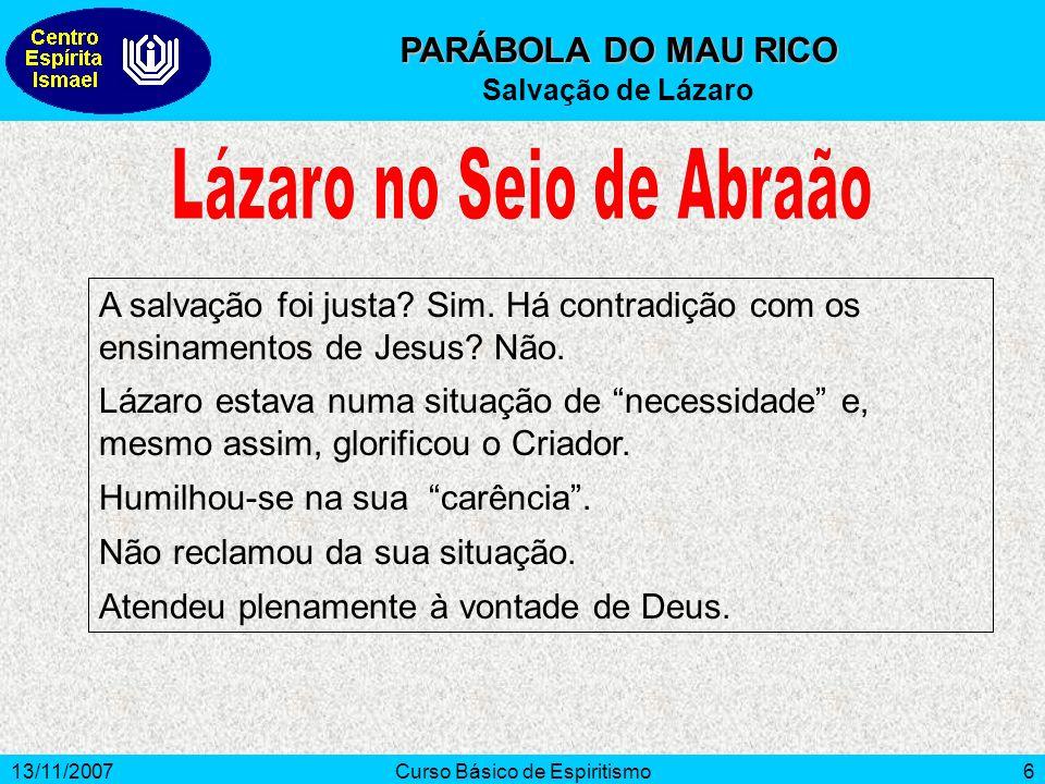 Lázaro no Seio de Abraão