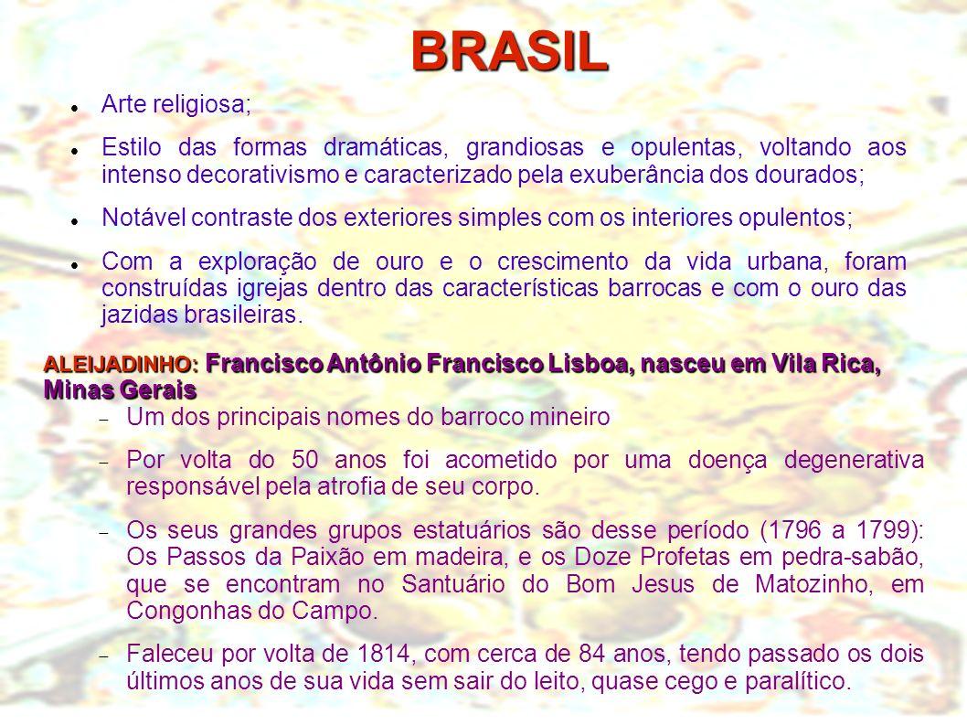 BRASIL Arte religiosa;
