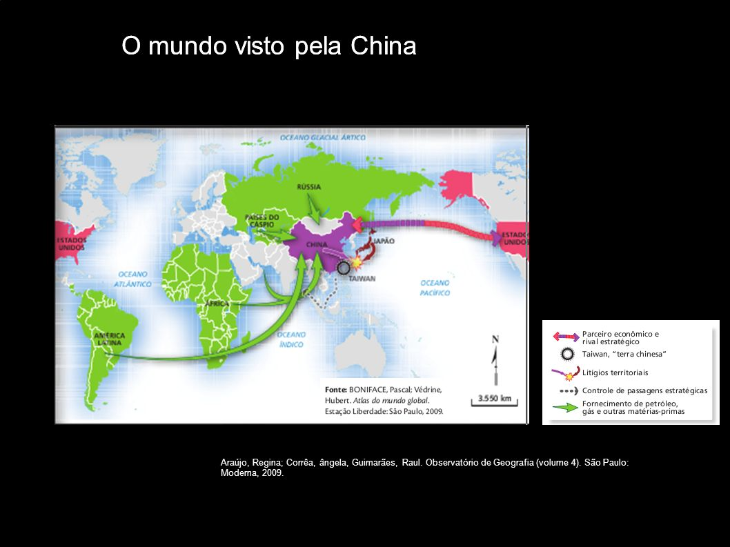 O mundo visto pela China O mundo visto pela China