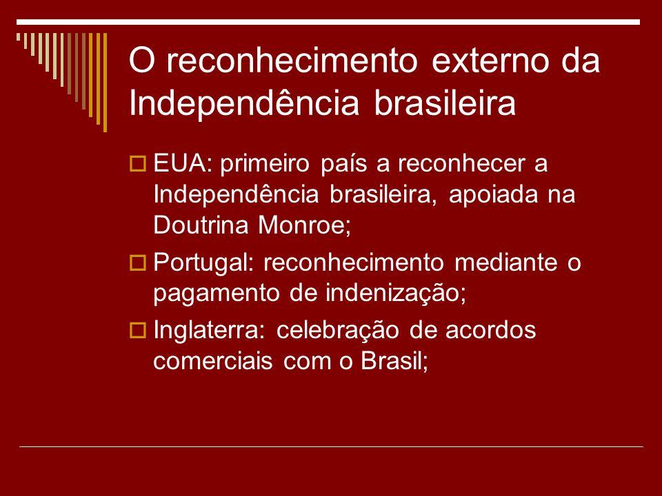 O reconhecimento externo da Independência brasileira