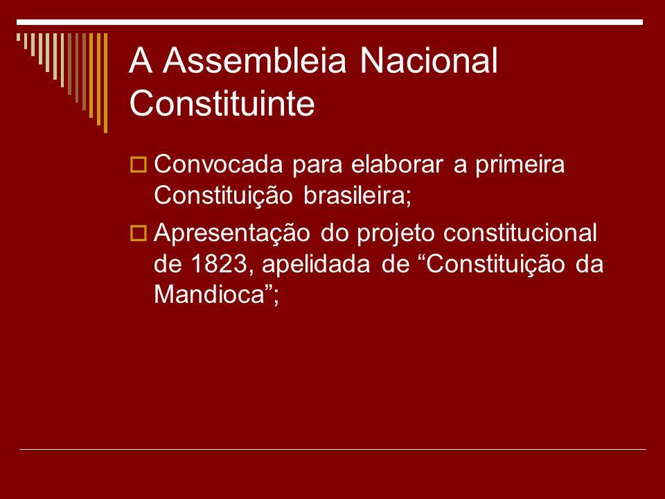 A Assembleia Nacional Constituinte