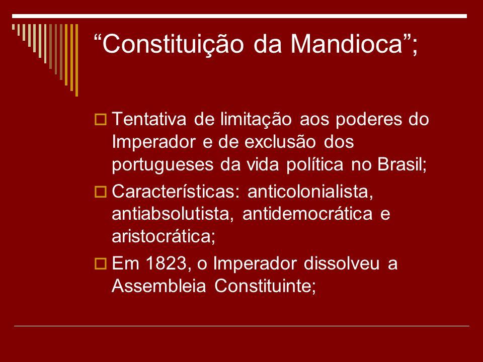 Constituição da Mandioca ;
