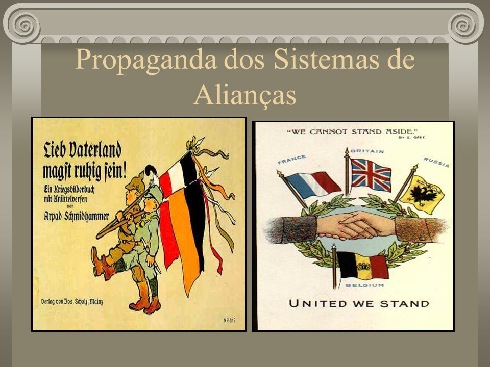 Propaganda dos Sistemas de Alianças