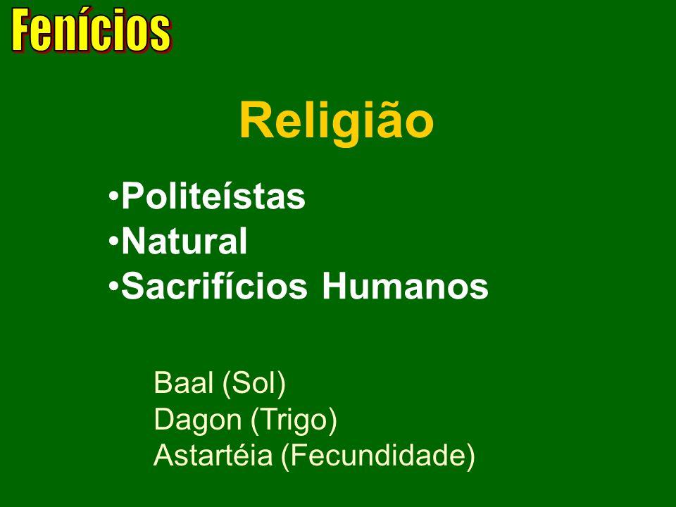 Religião Politeístas Natural Sacrifícios Humanos Fenícios Baal (Sol)