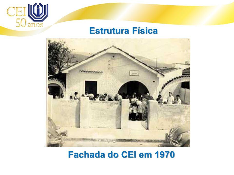 Estrutura Física Fachada do CEI em 1970