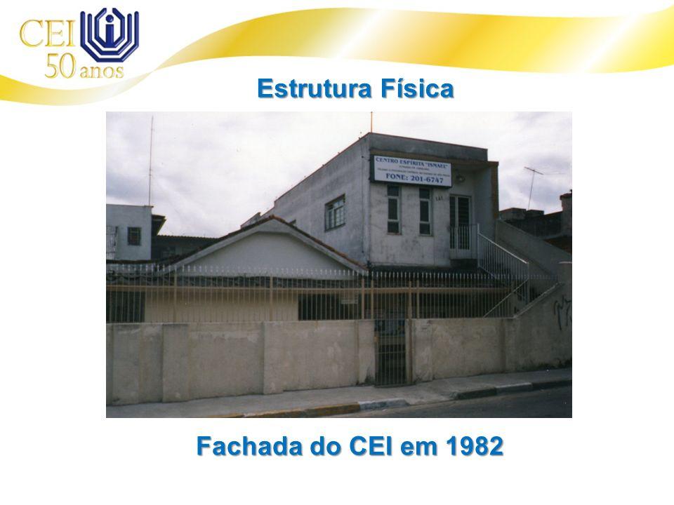 Estrutura Física Fachada do CEI em 1982