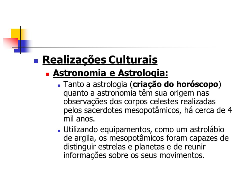 Realizações Culturais