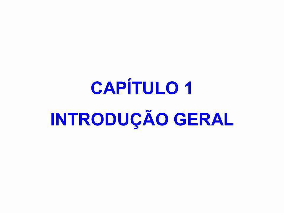 CAPÍTULO 1 INTRODUÇÃO GERAL