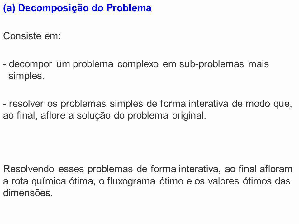 Decomposição do Problema