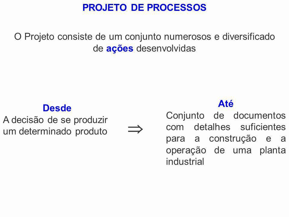 PROJETO DE PROCESSOSO Projeto consiste de um conjunto numerosos e diversificado. de ações desenvolvidas.