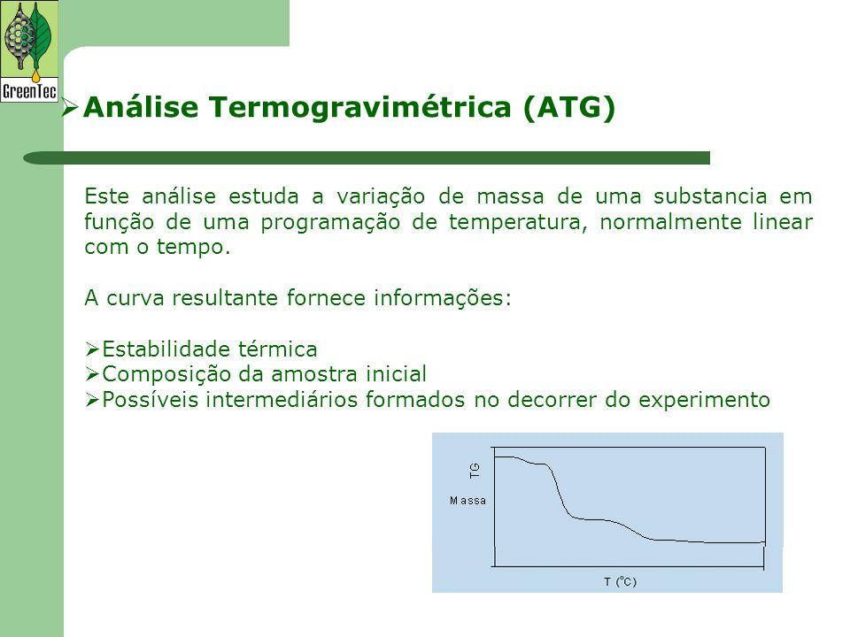 Análise Termogravimétrica (ATG)