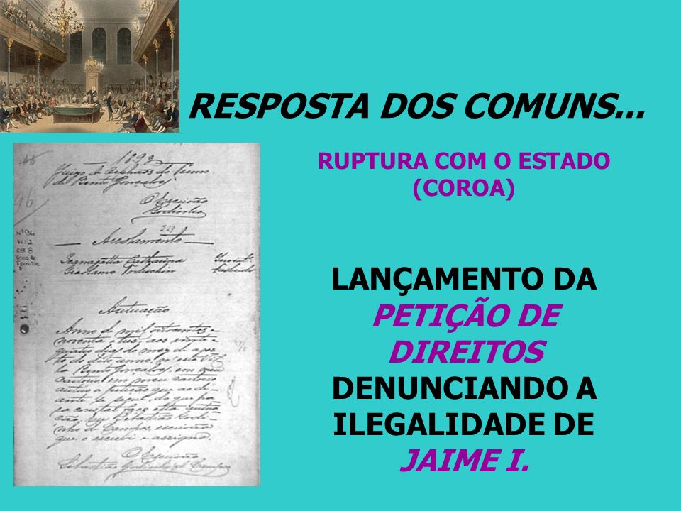 RUPTURA COM O ESTADO (COROA)