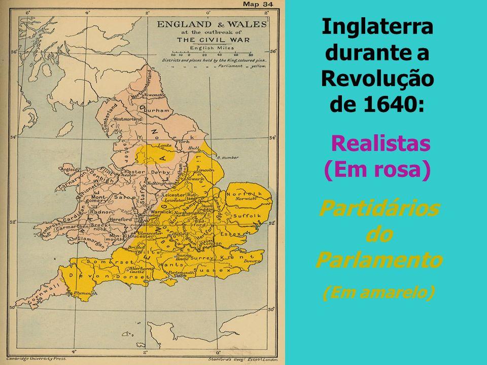 Inglaterra durante a Revolução de 1640: Partidários do Parlamento