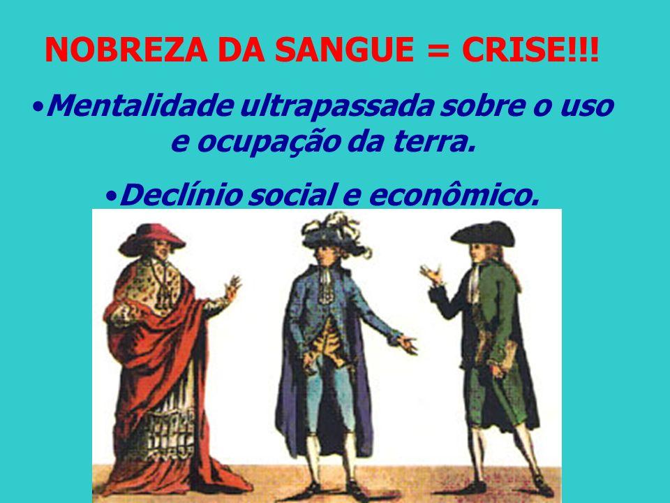 NOBREZA DA SANGUE = CRISE!!!