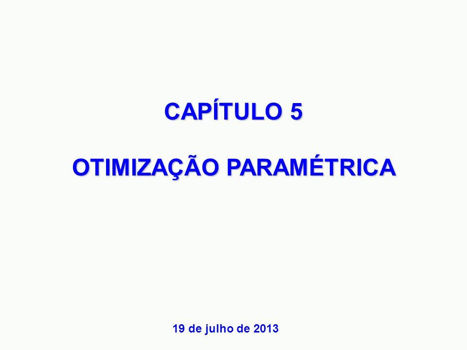 OTIMIZAÇÃO PARAMÉTRICA