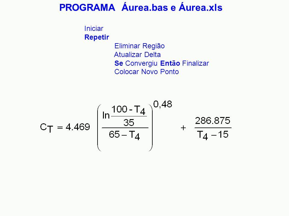 PROGRAMA Áurea.bas e Áurea.xls