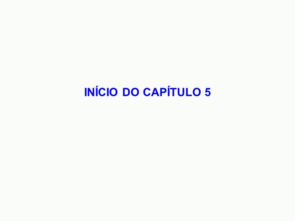 INÍCIO DO CAPÍTULO 5