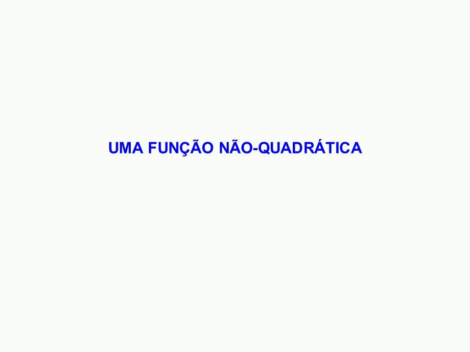 UMA FUNÇÃO NÃO-QUADRÁTICA