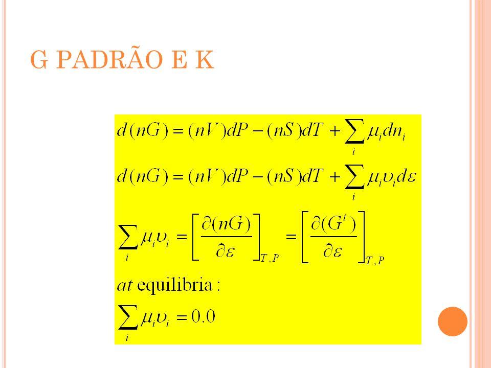 G PADRÃO E K