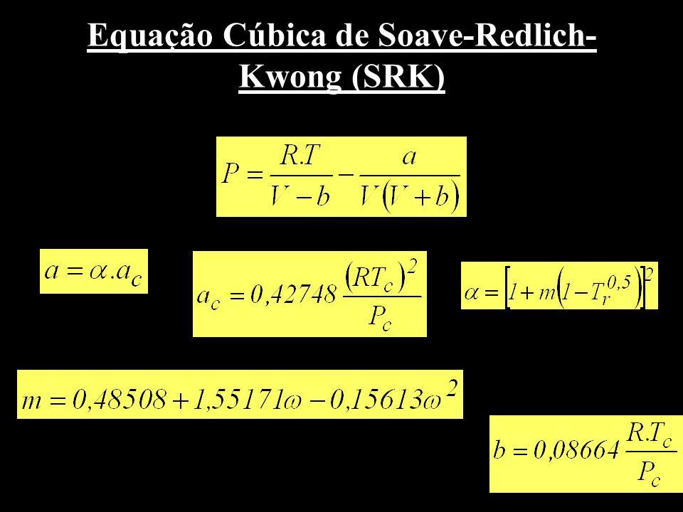 Equação Cúbica de Soave-Redlich-Kwong (SRK)