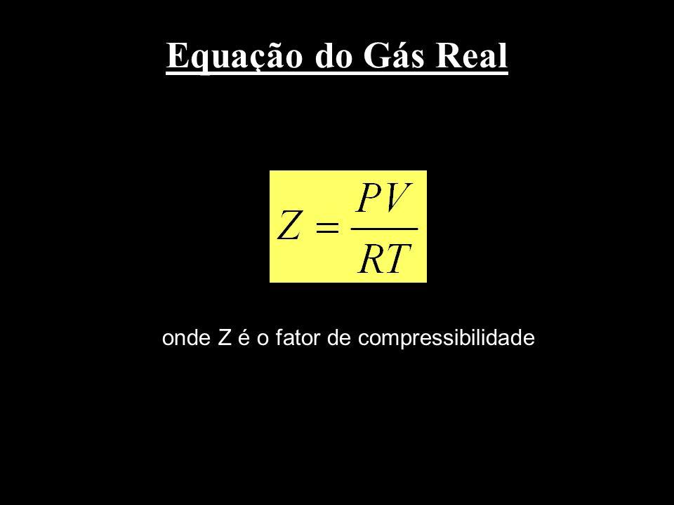 onde Z é o fator de compressibilidade