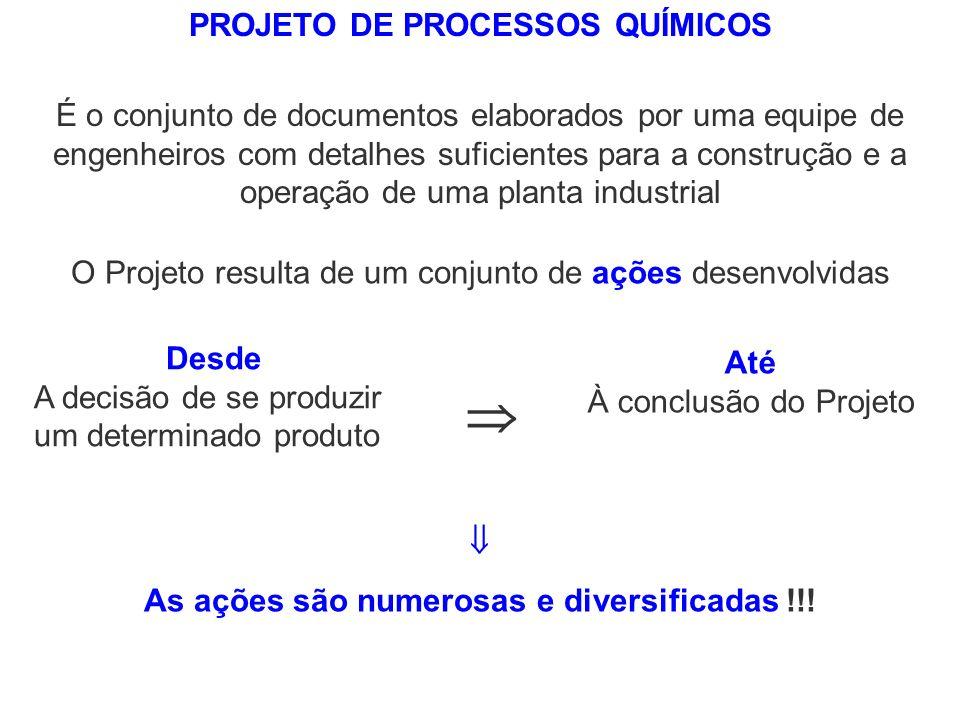  PROJETO DE PROCESSOS QUÍMICOS