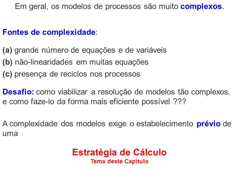Em geral, os modelos de processos são muito complexos.