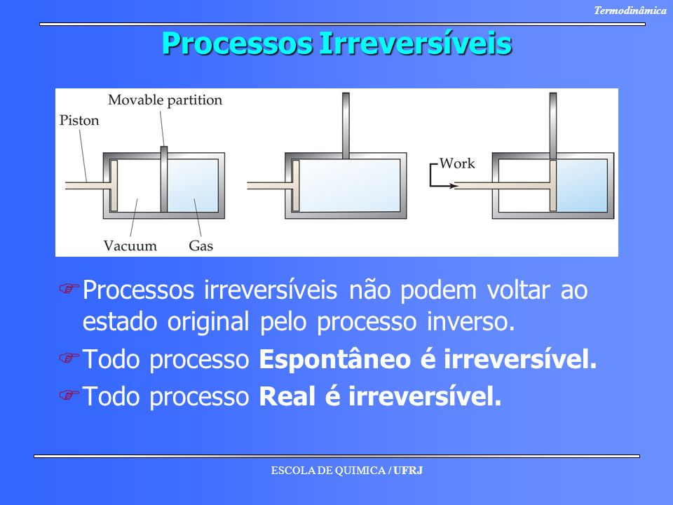 Processos Irreversíveis
