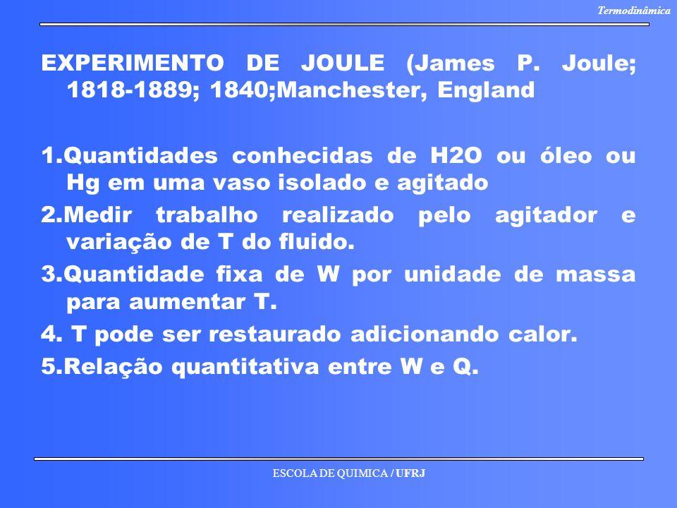 EXPERIMENTO DE JOULE (James P