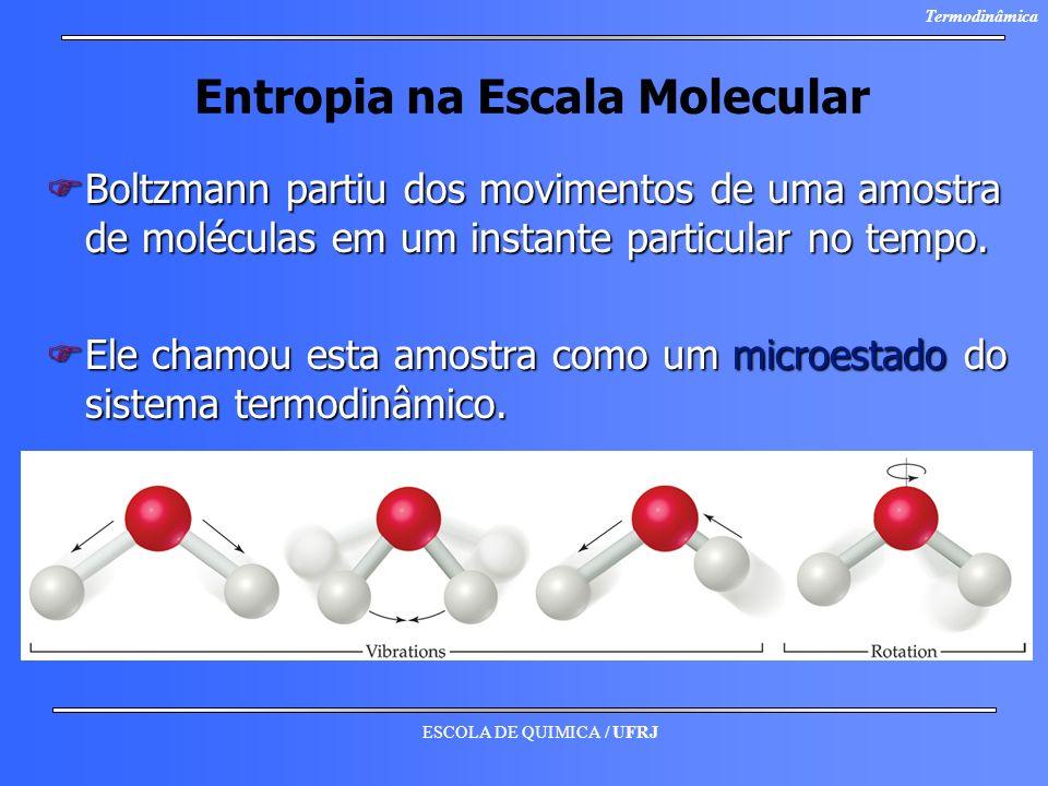 Entropia na Escala Molecular