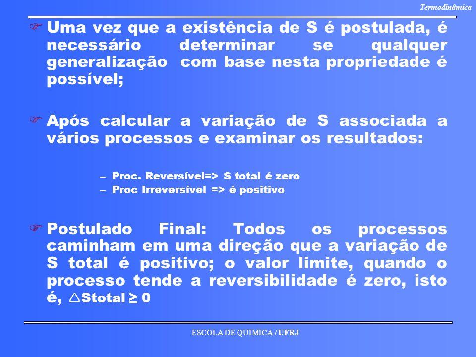 Uma vez que a existência de S é postulada, é necessário determinar se qualquer generalização com base nesta propriedade é possível;
