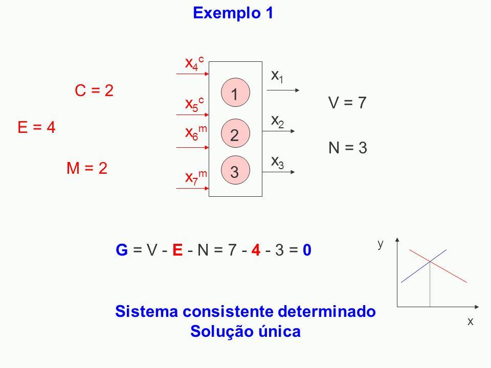 Sistema consistente determinado