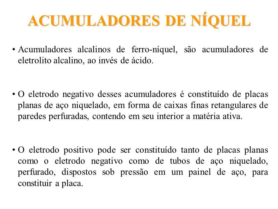 ACUMULADORES DE NÍQUEL
