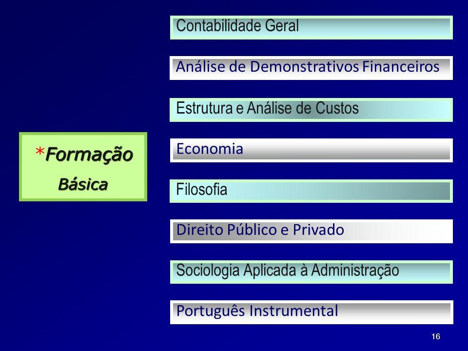 *Formação Contabilidade Geral Análise de Demonstrativos Financeiros
