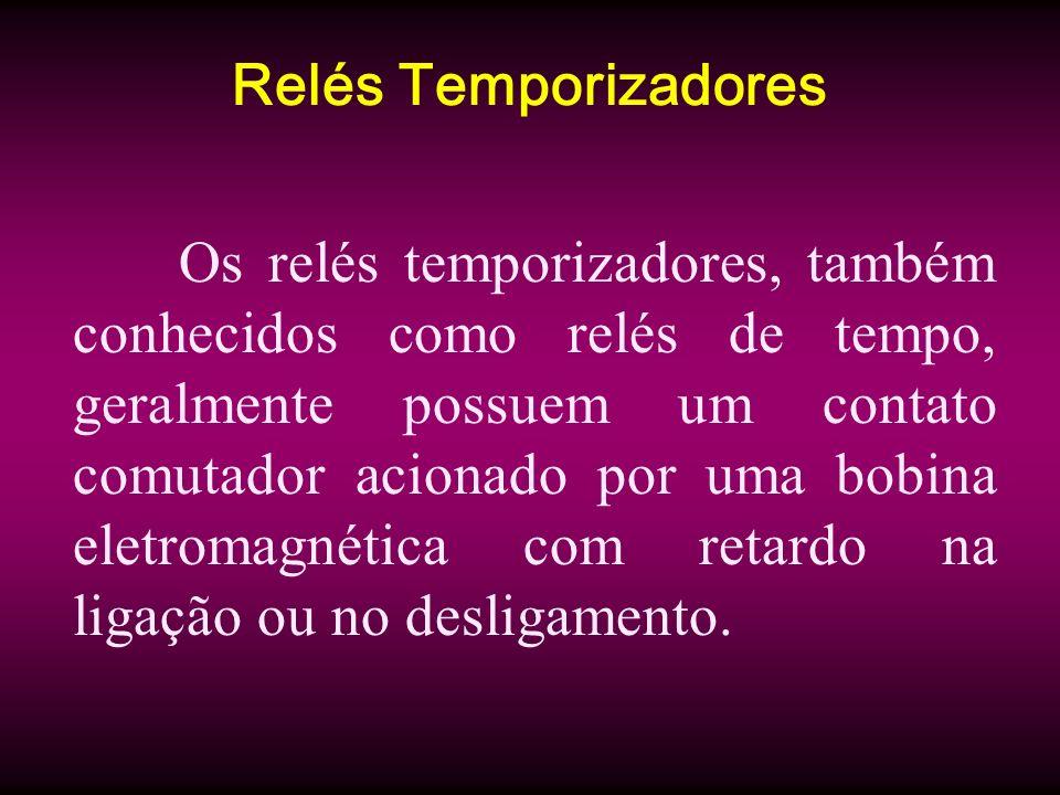 Relés Temporizadores