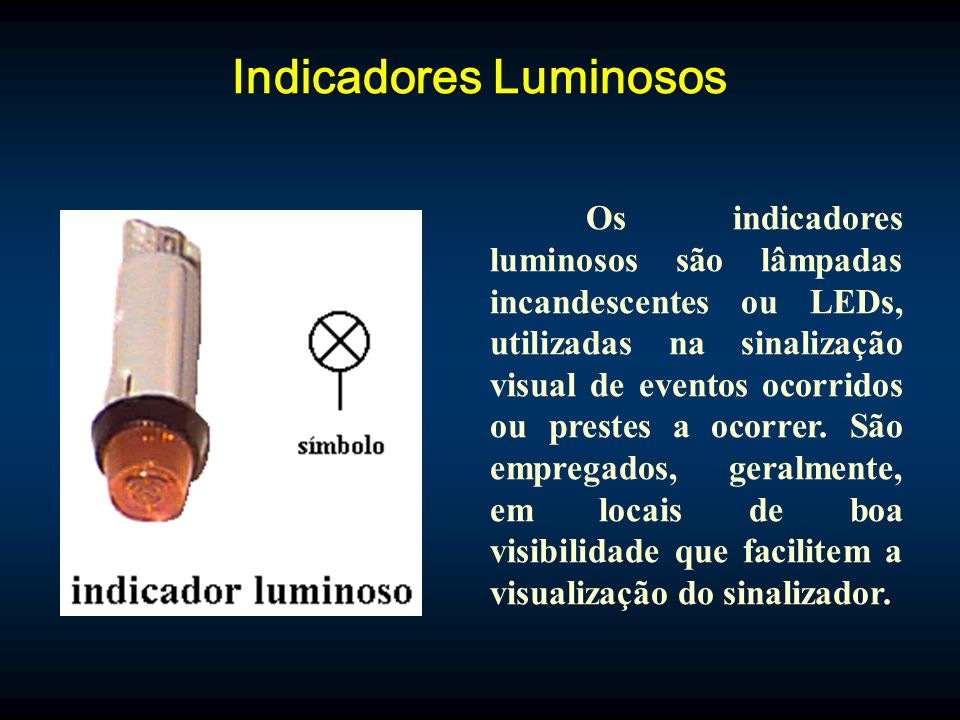 Indicadores Luminosos