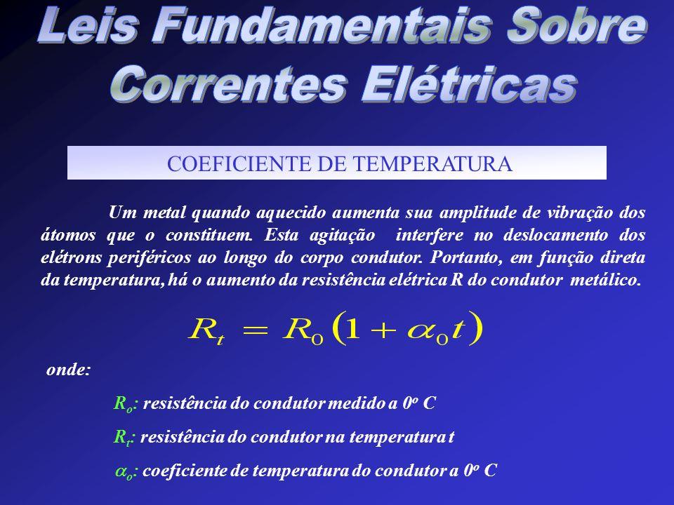 Leis Fundamentais Sobre Correntes Elétricas