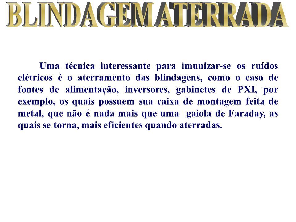 BLINDAGEM ATERRADA