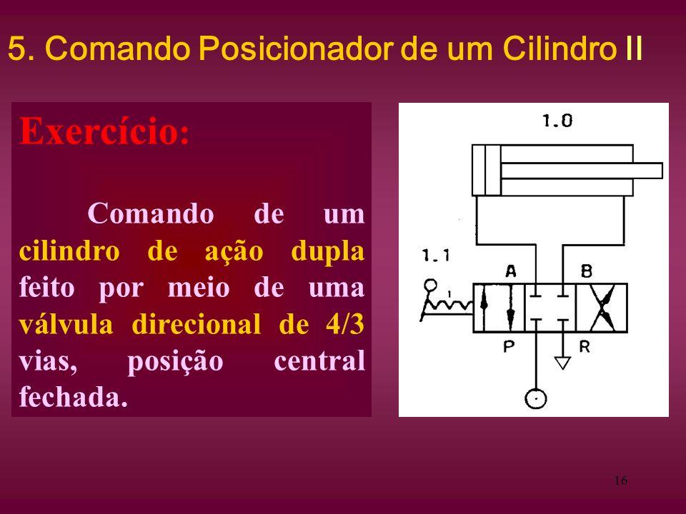 5. Comando Posicionador de um Cilindro II