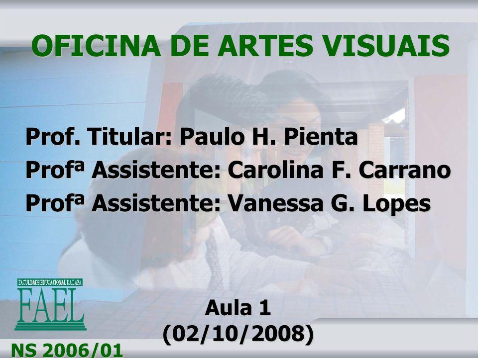 OFICINA DE ARTES VISUAIS