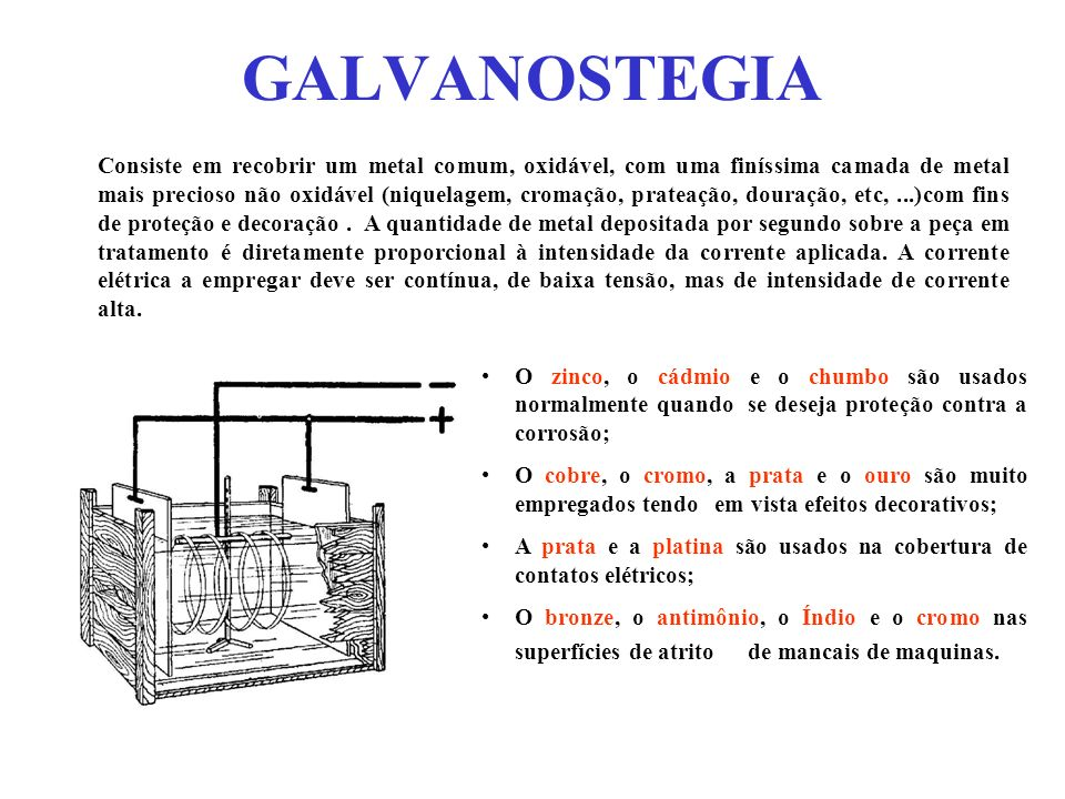 GALVANOSTEGIA