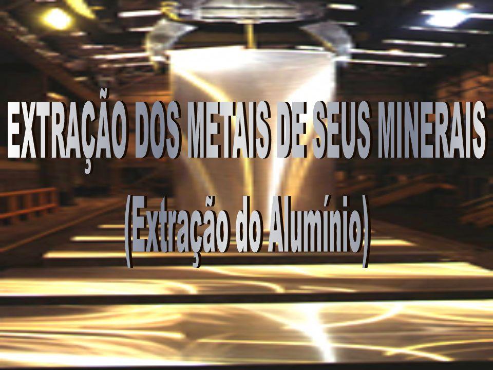 EXTRAÇÃO DOS METAIS DE SEUS MINERAIS (Extração do Alumínio)