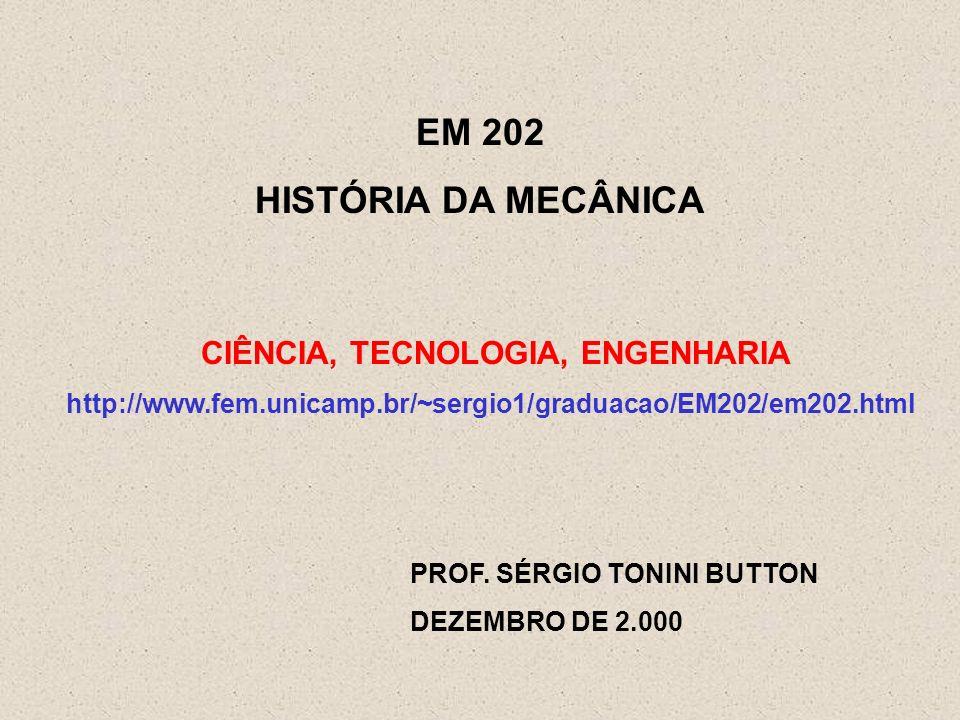 CIÊNCIA, TECNOLOGIA, ENGENHARIA