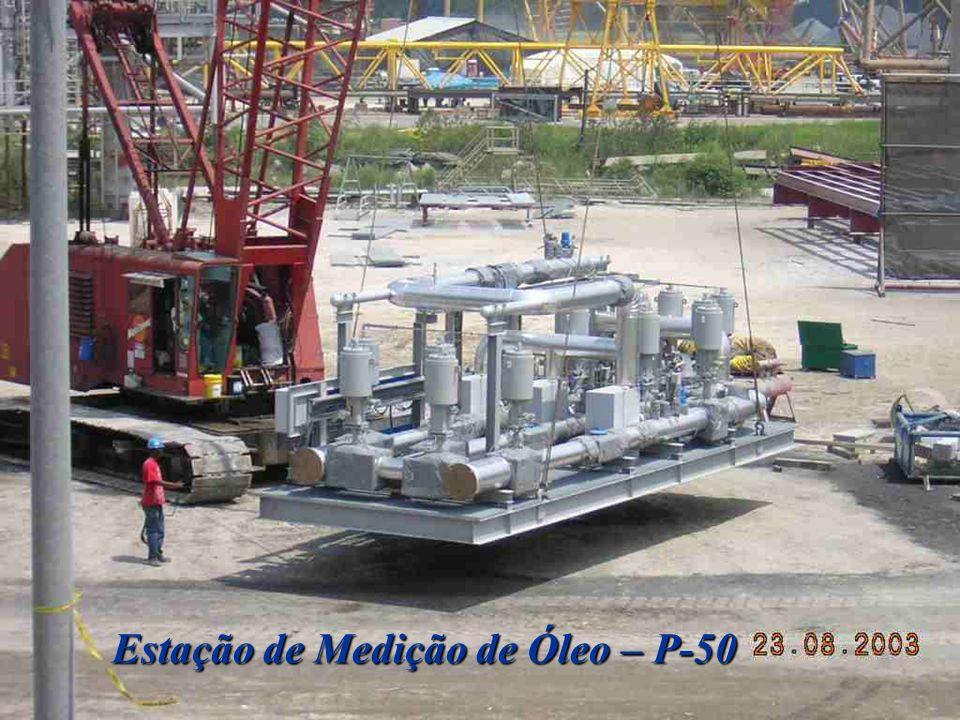 Estação de Medição de Óleo – P-50